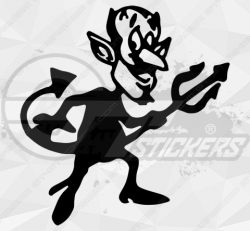 Stickers Diable 29