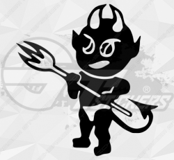 Stickers Diable 32