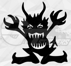 Stickers Diable 33
