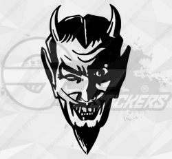 Stickers Diable 36