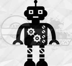Sticker Enfant Robot 1