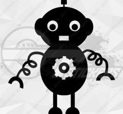 Sticker Enfant Robot 3