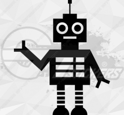 Sticker Enfant Robot 4