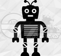 Sticker Enfant Robot 6