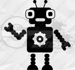 Sticker Enfant Robot 7