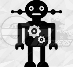Sticker Enfant Robot 8