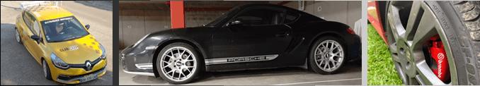 Autocollants pour voitures de toutes marques