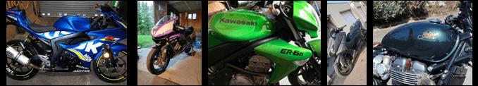 Stickers et autocollants pour moto